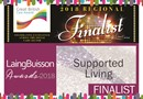 Great British Care Awards and LaingBuisson Awards logos