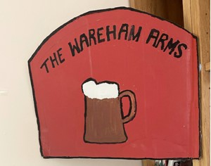 Wareham Arms pub sign