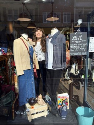 Lucy At The Gloucester Road Charity Shop