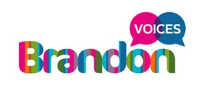 Brandon Voices logo