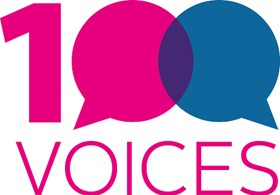 100 Voices Logo